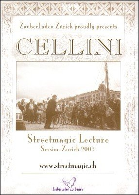 Streetmagic Lecture 2005 by Jim Cellini