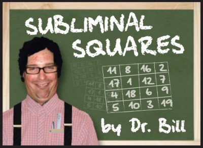 Subliminal Squares by Dr. Bill Cushman