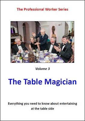 The Table Magician by Mark Leveridge