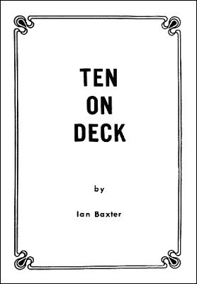 Ten on Deck by Ian Baxter