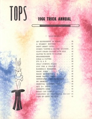 Tops 1966 Trick Annual by Neil Foster