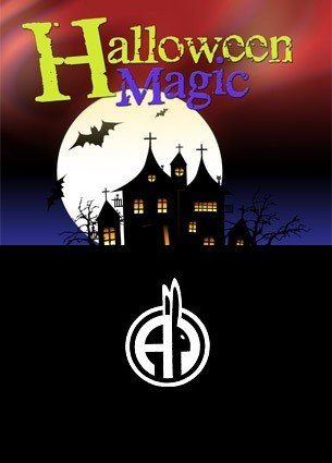 Tops Treasury of Halloween Magic by Percy Abbott