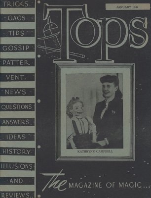Tops Volume 12 (1947) by Percy Abbott