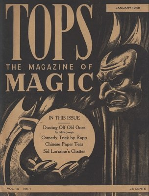 Tops Volume 14 (1949) by Percy Abbott
