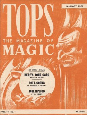 Tops Volume 16 (1951) by Percy Abbott