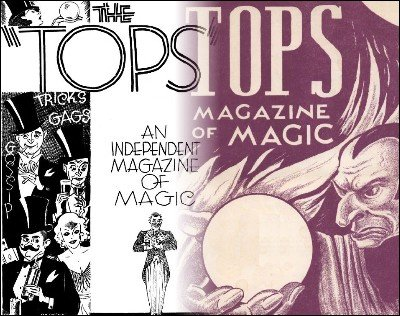 Tops all Volumes 1-22 (1936-1957) by Percy Abbott