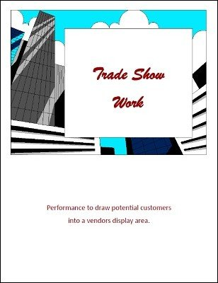 Trade Show Work by Brian T. Lees