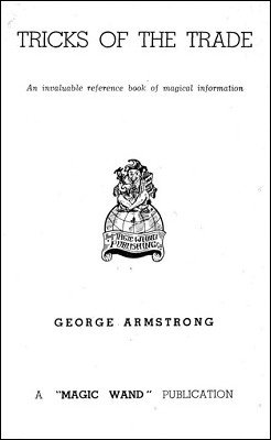 Tricks of the Trade by George Armstrong