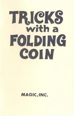 Tricks with a Folding Coin by Frances Marshall