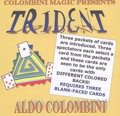 Trident by Aldo Colombini