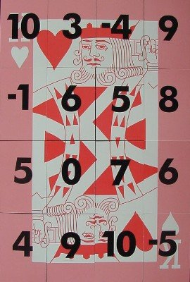 The Ultimate Magic Square (King of Hearts) by Chris Wasshuber