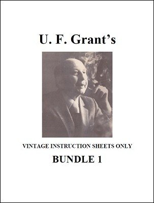 UF Grant Instruction Sheets 1 by Ulysses Frederick Grant