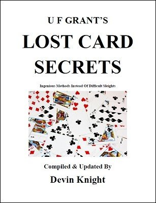 UF Grant's Lost Card Secrets by Devin Knight & Ulysses Frederick Grant