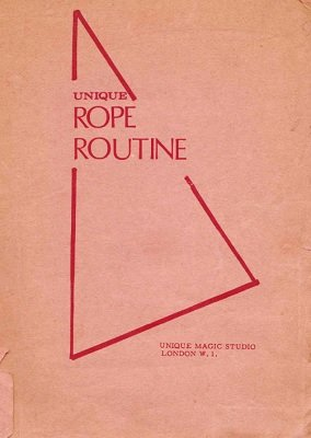 Unique Rope Routine by Harry Stanley