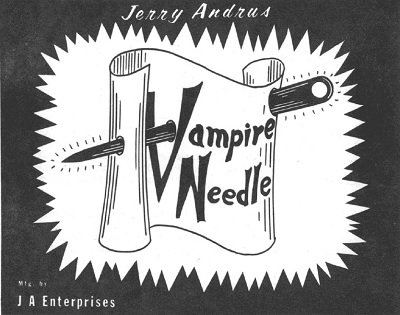 Vampire Needle by Jerry Andrus