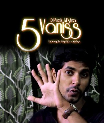 Vaniss: five coin vanishes by Deepak Mishra