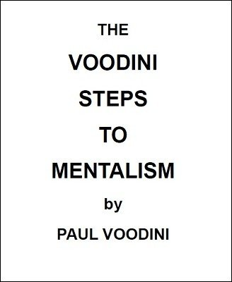 The Voodini Steps to Mentalism by Paul Voodini