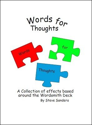 Words for Thoughts by Steve Sanders