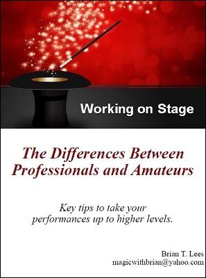 Working on Stage by Brian T. Lees
