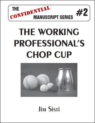 The Working Professional's Chop Cup by Jim Sisti