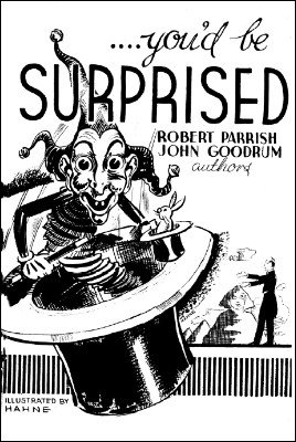 You'd Be Surprised by Robert Parrish & John Goodrum